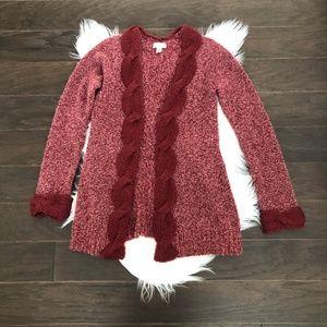 [Sleeping on Snow] Chunky Knit Long Cardigan